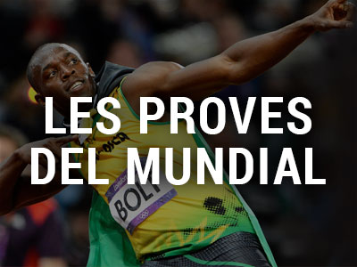 Les proves del Mundial d'Atletisme