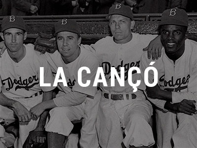 La cançó: Beisbol – Did You See Jackie Robinson Hit That Ball?